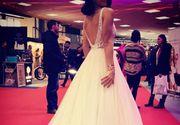 O fostă concurentă de la Exatlon a îmbrăcat rochia de mireasă și radiază de bucurie