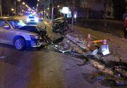 Un șofer beat a provocat un accident groaznic în Constanța