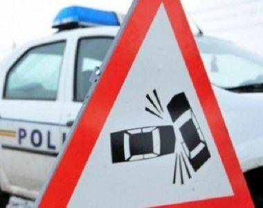 Un  șofer băut, fără permis și cu copilul în maşină, a fugit de Poliţie până a intrat...