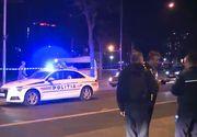 Maşină de poliţie care făcea parte din coloana oficială a unui diplomat străin, implicată în accident în Bucureşti! O persoană a fost rănită