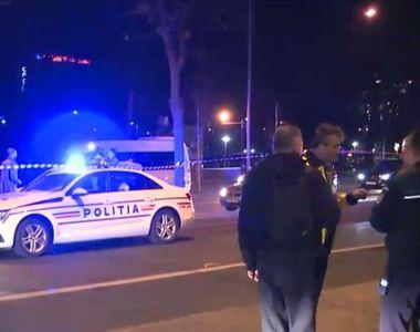 Maşină de poliţie care făcea parte din coloana oficială a unui diplomat străin,...