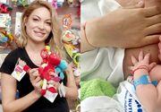 Valentina Pelinel a născut! Cristi Borcea a devenit tătic pentru a noua oară