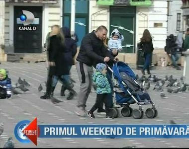 Primul weekend de primăvară! Soarele i-a scos pe români din case. Ce spun specialiștii...