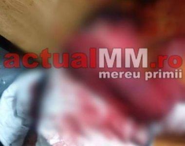Imagini terifiante din apartamentul în care o băimăreancă şi-a ucis soţul cu un ciocan