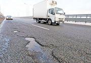 Autostrada A3, plină de gropi. Intră în reparații capitale