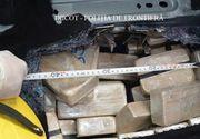 Captură uriașă de droguri în Maramureș! Au încercat să aducă în țară 84,3 kg heroină. Unde erau ascunse drogurile