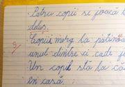 Tema unui elev din Iaşi, corectată greşit de profesor. Părinții au cerut lămuriri