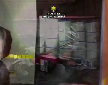 Polițiștii de frontieră de la Nădlac, ȘOCAȚI de ce au găsit într-un TIR! Au dat la o...