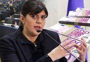 Ce salariu va avea Laura Kovesi ca procuror şef al Parchetului European! Fosta şefă a DNA  va încasa peste 13.000 de euro pe lună!