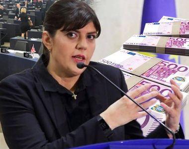 Ce salariu va avea Laura Kovesi ca procuror şef al Parchetului European! Fosta şefă a...