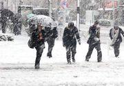 Iarna revine în România! Temperaturile scap cu până la 15 grade. Zonele unde va ninge