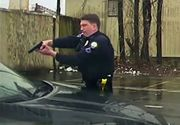 Momentul TERIFIANT în care un polițist împușcă un șofer prin parbriz de 15 ori! IMAGINI ȘOCANTE!