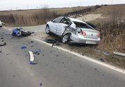 Grav accident de circulație in Timis! Un tanar de 28 de ani a murit