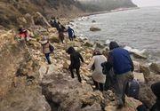 Corpul unei fetiţe, victimă probabil a naufragiului unei bărci, descoperit pe o plajă în insula Lesbos