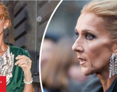 Celine Dion a ajuns aproape anorexică