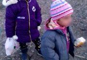 S-a aflat cine este mama copiilor abandonați pe un câmp din Botoșani! Polițiștii au dus-o la audieri!