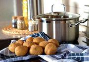 Producătorii de cartofi din România sunt disperați! Ei vând cartoful cu 50 de bani kilogramul, iar la piață prețul este și de șapte ori mai mare!