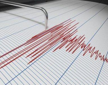 Cutremur cu magnitudinea de 3,2 grade pe scara Richter, produs în Vrancea