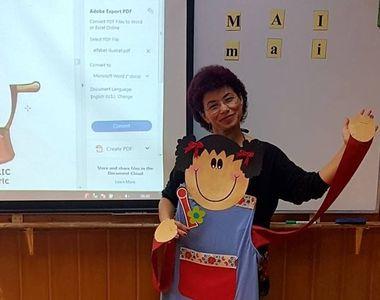 Consuela Coltan este cea mai cool invatatoare din Bucuresti! Metodele ei raspund...