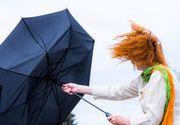 Avertizări cod galben de vânt puternic în opt judeţe