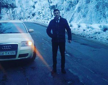 El este tânărul mort în accidentul din Suceava. Alex a intrat cu 140 km/h în...
