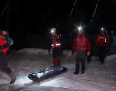 Turist mort, gasit in Masivul Bucegi! Salvamontistii au intervenit pentru recuperarea...