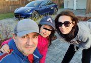 """George Buhnici și-a luat Tesla, cea mai """"smart"""" mașină electrică din lume! """"Da, e adevărat! E cea mai tare jucărie"""""""