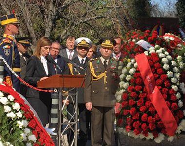 Ziua Eroilor Turci - Ceremonie de comemorare! Excelenţa Sa, Füsun Aramaz, ambasadorul...