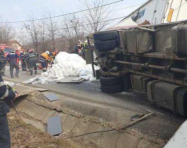 Carnaj pe o șosea din Iași! Morți și răniți în urma unui accident TERIBIL!