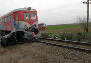Accident feroviar în comuna Găneasa din Olt! A fost SPULBERAT de tren! A murit pe loc
