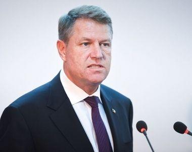 """Președintele Klaus Iohannis îl atacă pe Liviu Dragnea, internat în spital privat """"Nu..."""