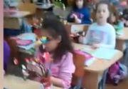 Scene halucinante într-o școală din Capitală. Învățătoarea îi terorizează