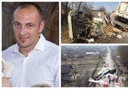 El este șoferul care a provocat cumplitul accident în care au fost implicate trei camioane! Daniel a murit în cabină