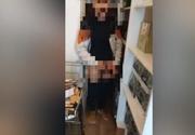 Scene ORIBILE într-o cafenea din Oradea! Angajații au dezbrăcat un bolnav psihic și l-au pus să umble printre produsele din magazie!