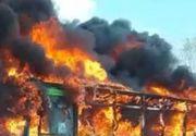 ȘOCANT! Un bărbat a dat foc unui autobuz școlar plin cu elevi! 51 de suflete nevinovate au văzut IADUL cu ochii lor!