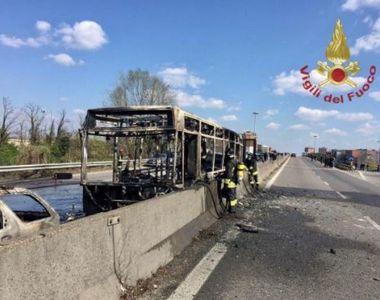 """Mărturia elevului-erou din """"autobuzul groazei"""" din Italia! Cum a reușit să alerteze..."""