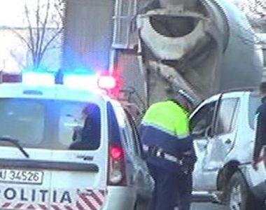 Accident GRAV în Hunedoara. O femeie a fost decapitată de o betonieră