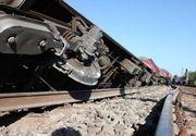 Un vagon al unui tren de marfă a deraiat în Braşov