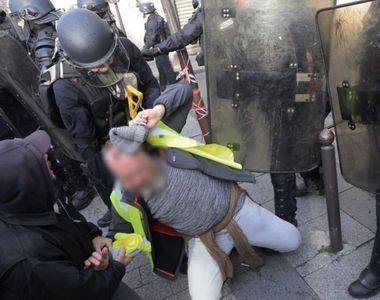 Zeci de arestări la Paris. Capitala franceză, un butoi cu pulbere