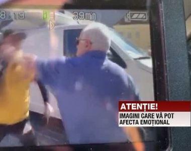 Miting PSD Braşov. Doi bărbaţi s-au bătut