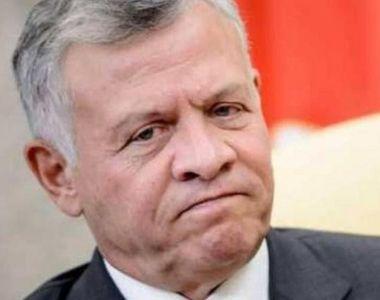 Regele Iordaniei îşi anulează vizita în România în urma anunţului privind mutarea...