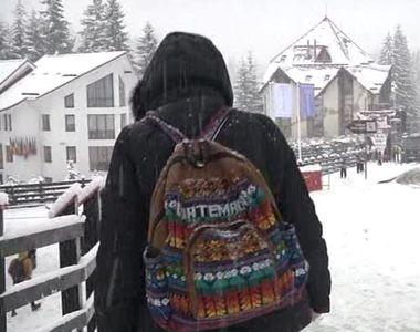 Se apropie Paștele, dar într-o localitate din România ninge ca-n povești! Pe pârtii...