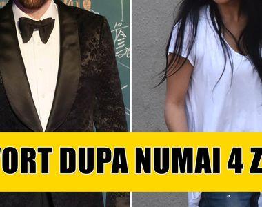 Un cunoscut actor vrea să divorțeze după numai 4 zile de căsnicie