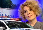 Carmen Avram a fost dată afară din cimitir cu două maşini de poliţie! S-a întâmplat în America, la înmormântarea lui Michael Jackson!