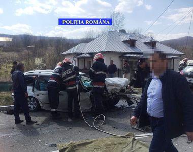 Accident CUMPLIT la Băile Govora. O femeie a murit, un bărbat este resuscitat, 4...