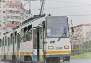 Circulaţia tramvaielor, blocată pe şoseaua Mihai Bravu din Capitală. O autospecială ISU a lovit un biciclist