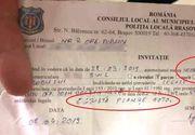 """Un polițist din Brașov a """"asasinat"""" limba română. Ce a scris pe procesul verbal"""