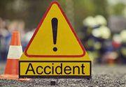 Un sofer de 19 ani a spulberat o femeie intr-o localitate din Dolj! Victima este in stare GRAVA in spital! Imaginile de la accident sunt cumplite