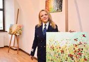 Alina este comisar șef de Poliție, dar este pasionata de pictura! Uite ce minunății ies din mâinile ei