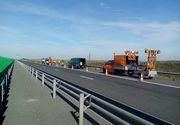 Trafic restricţionat pentru efectuarea de lucrări, pe Autostrada A1 Bucureşti - Piteşti